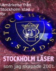 Stockholm stads utmärkelse
